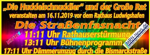 Huddelschnuddler Straßenfasnacht 2019