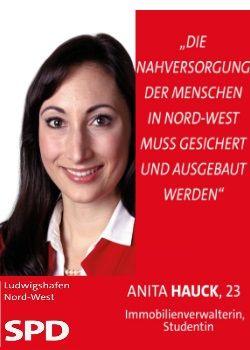 Anita Hauck SPD