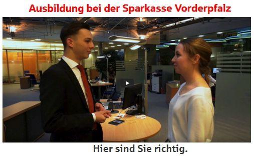 Ausbildung bei der Sparkasse Vorderpfalz