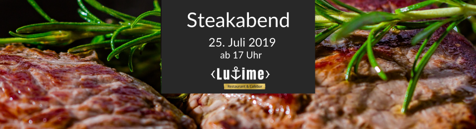 LUTIME Steakabend